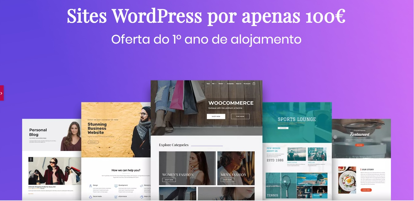 Criamos Sites WordPress