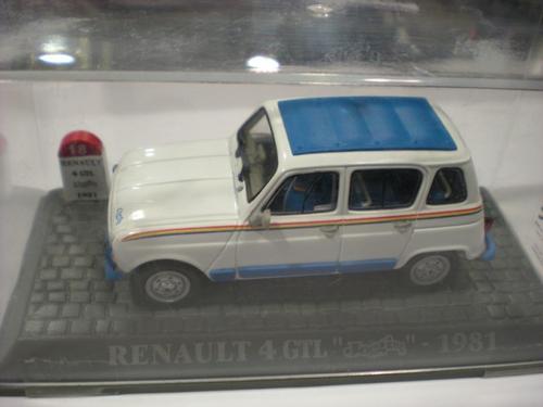 renault 4l branca e azul vendida produtos miniaturas 1 43 miniaturas 1 43 passado e presente. Black Bedroom Furniture Sets. Home Design Ideas