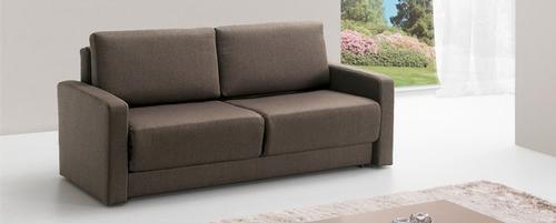 Sofas em Pele Sintetica Sofa-cama Belga em Pele