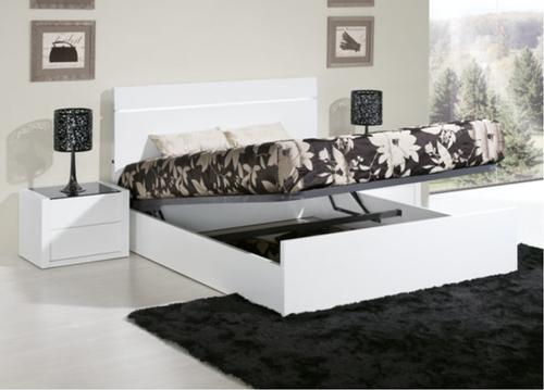 Quarto casal prestige branco lourini produtos atelier for Mobilia catalogo
