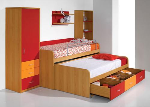 Quarto juvenil kids 7 lourini produtos atelier for for Cama compacta barata