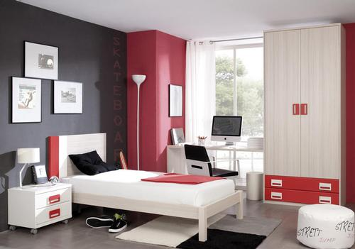 Mobiliario juvenil h 305 produtos camas individuais for Mobiliario juvenil